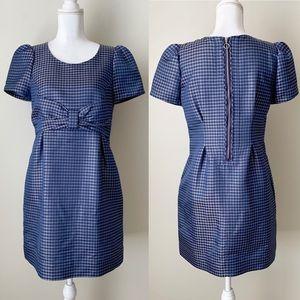 See By Chloe blue short sleeve dress